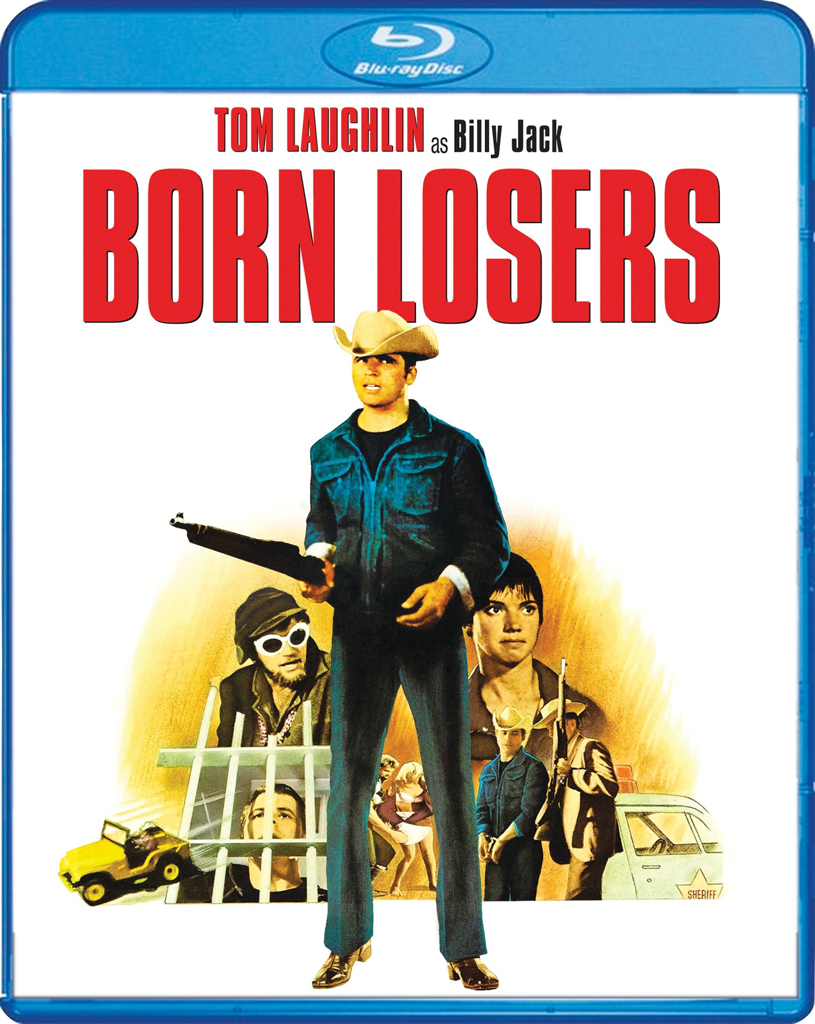 Blu-ray : The Born Losers (Widescreen, Dubbed)