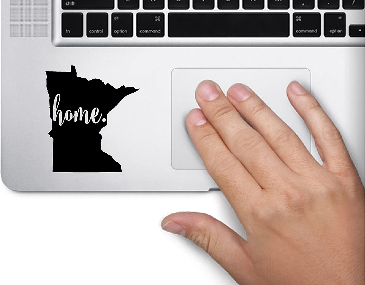 ExpressDecor #3 Home Minnesota Keypad Saint Paul State Computer Laptop Symbol Decal Family Love Car Truck Sticker Window (Black)