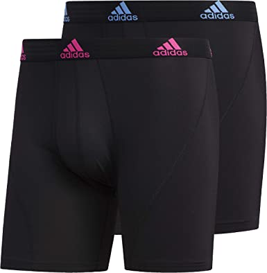 3-pack Underwear adidas Mens Mens Sport Performance Climalite Boxer Brief