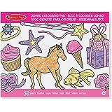Melissa & Doug Jumbo Colouring Pad – Pink
