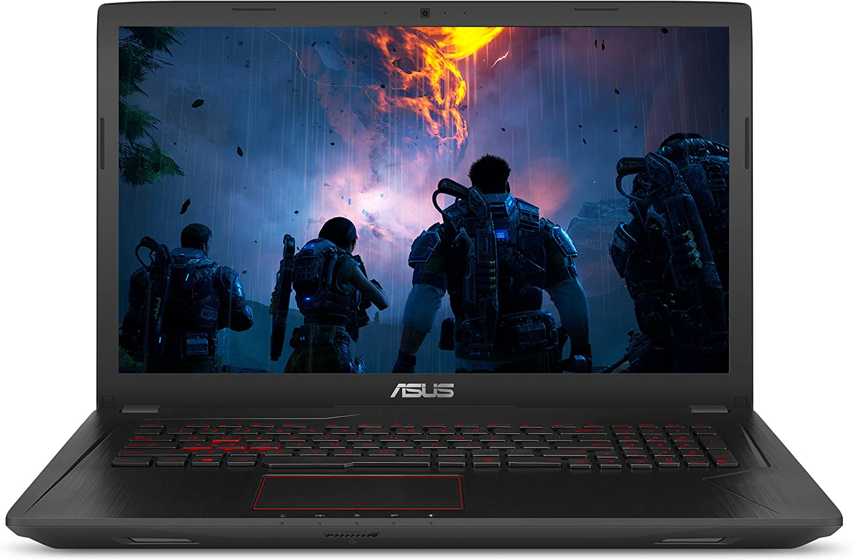 "ASUS Gaming Laptop, 17.3"" Full HD Wideview Display, Intel Core i7-7700HQ Processor, NVIDIA GTX 1050 Ti 4GB, 8GB DDR4 RAM, 1TB HDD, Backlit kbd, USB 3.1 Type C, Windows 10 Home, FX73VE-WH71"