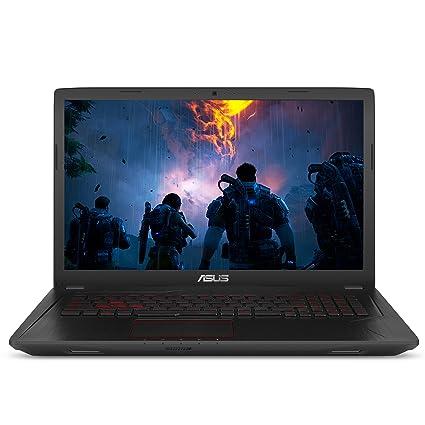 """ASUS Gaming Laptop, 17 3"""" Full HD Wideview Display, Intel Core i7-7700HQ  Processor, NVIDIA GTX 1050 Ti 4GB, 8GB DDR4 RAM, 1TB HDD, Backlit kbd, USB"""
