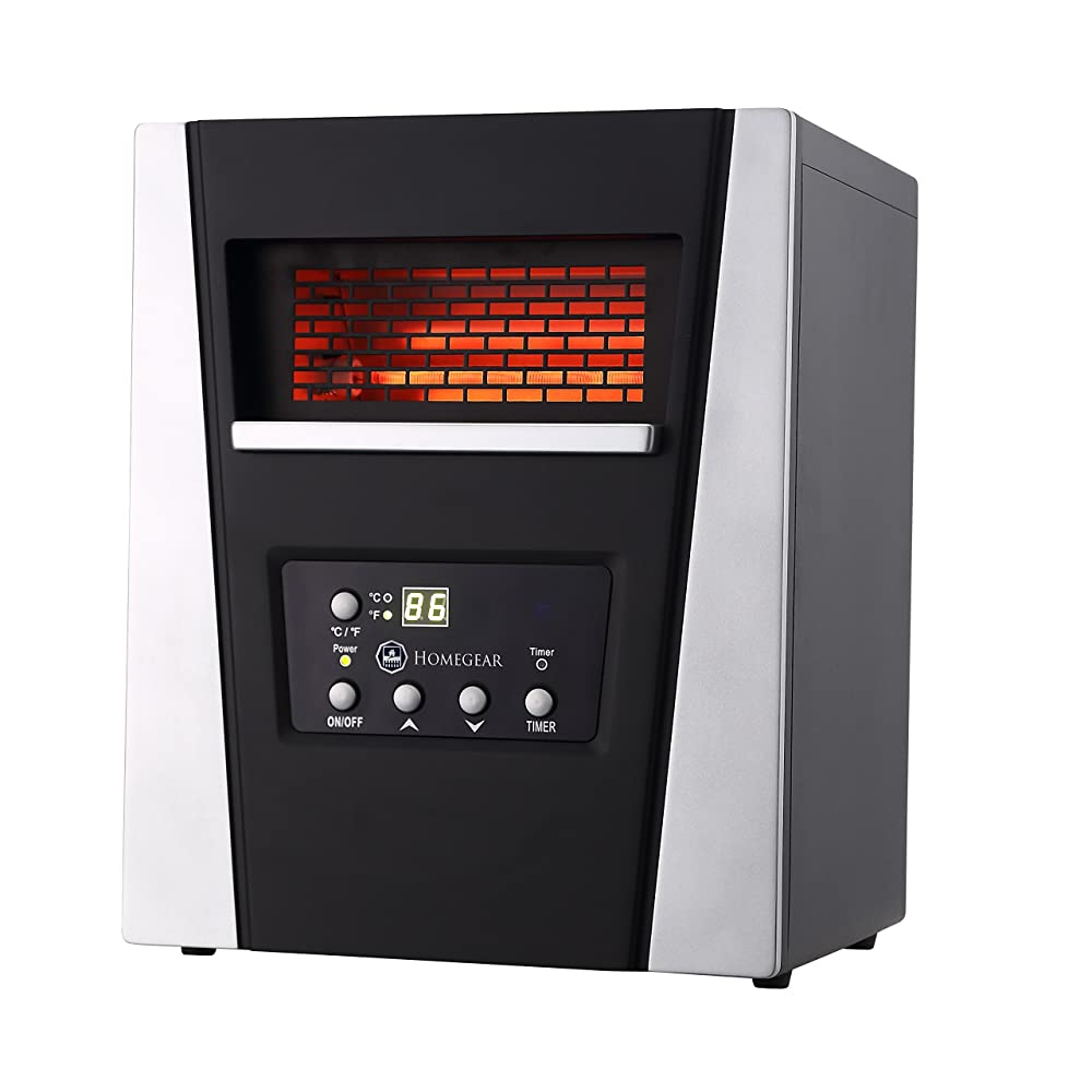Homegear Pro 1500w Large Room Infrared Space / Cabinet Heater Review