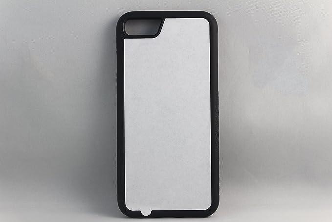 huge selection of 5b1e0 8c5cc Amazon.com: Apple iPhone 7 Rubber / Plastic - Black / White - DIY ...