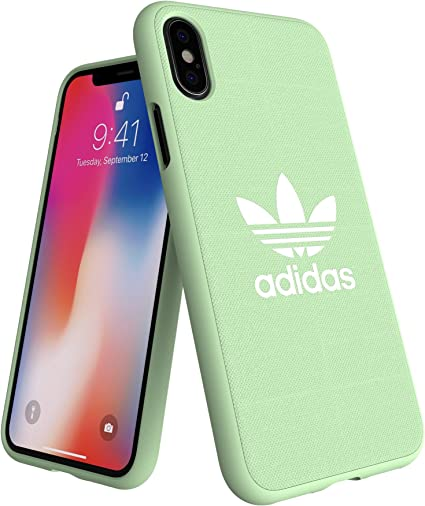 Adidas Originals Adicolor - Carcasa Moldeada para iPhone XS/X, Color Verde Menta: Amazon.es: Electrónica