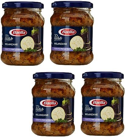 "Barilla: ""Pestato Melanzane"" Eggplant Pasta Sauce 6.10 Ounce (175g) Bottles"
