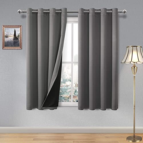 DWCN 100 Blackout Curtains Thermal Insulated