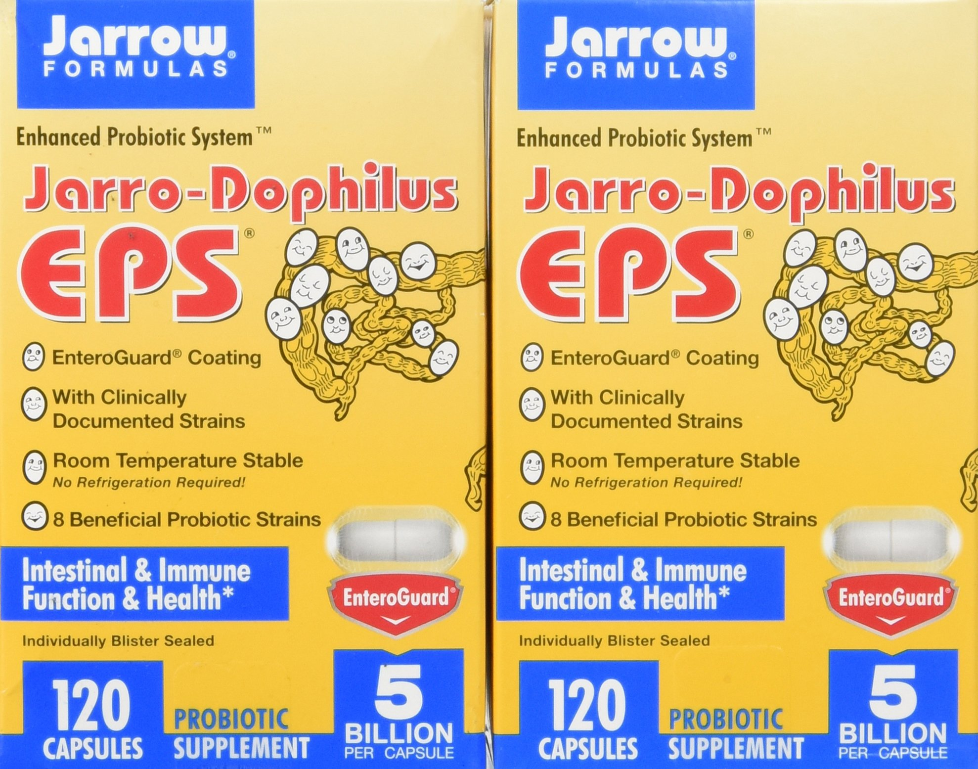 Jarrow Formulas Jarro-dophilus + Eps  (2 PACK) 240 capsules