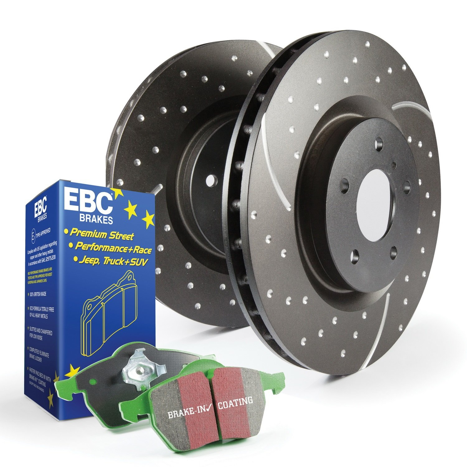 EBC S3KF1128 Stage-3 Truck and SUV Brake Kit by EBC (Image #1)