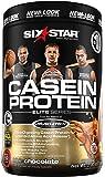 Six Star Pro Nutrition Casein Protein Powder, 100% Pure Casein, Triple Chocolate,  2.0 Pounds
