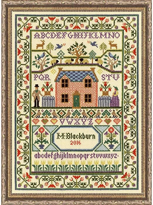Bothy Threads Season And Time Cross Stitch Kit by Bothy Threads