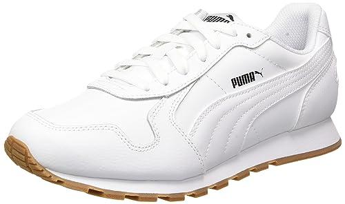Puma St Runner V2 Full L, Zapatillas Unisex Adulto, Blanco (Puma White-Puma White), 46 EU