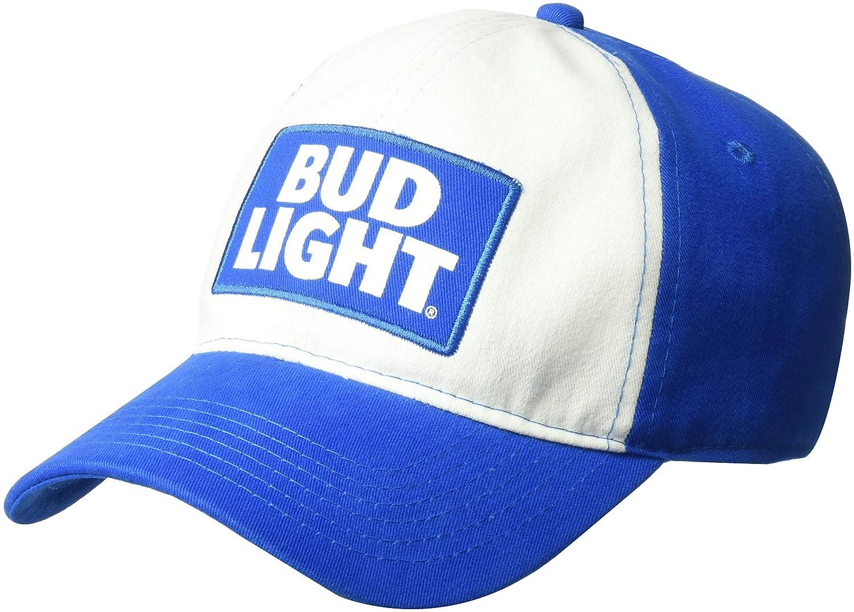 3bf161f05 Bud Light Men's Papers Straw Mesh Baseball Cap, Royal, One Size