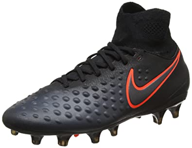 cheap for discount c5a1d faa91 Nike Unisex-Kinder Magista Obra II FG Fußballschuhe schwarz, 38 EU