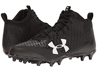 63ed30775 Under Armour Men s UA Nitro Select Mid MC Black White 8.5 ...