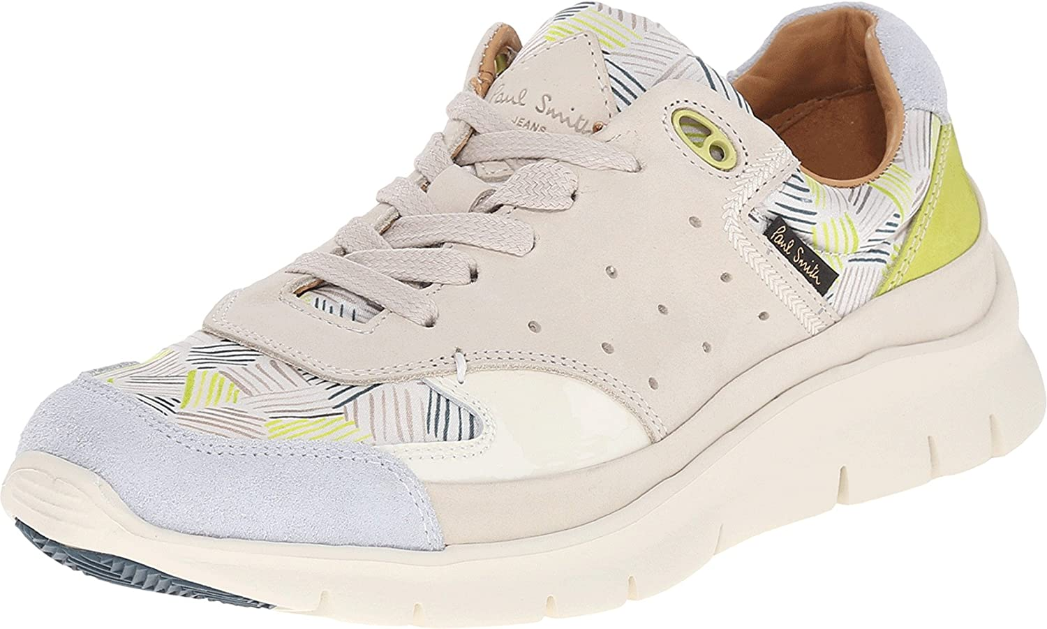 Paul Smith Womens October Off-White Directional Stripe Tira/Off-White Charol