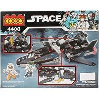 Planet of Toys Spaceship Toys Building Blocks Set for Kids, Building Blocks Game Toys for Children (184 Pcs )