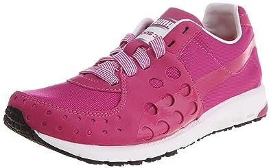 Puma Faas 300 Canvas Wn's, chaussures de sport - course à pied femme - Rose - Pink (raspberry rose-white 02), 40.5 EU