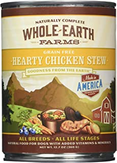 product image for Merrick Whole Earth Farms Hearty Chicken Stew - 12 x 12.7 oz