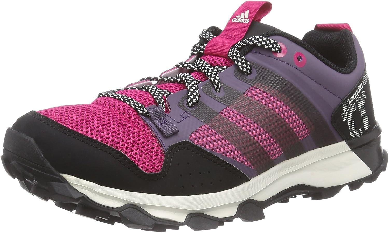 adidas Kanadia 7 TR W - Zapatillas para Mujer, Color Morado/Negro/Rosa