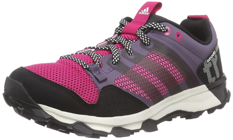 adidas Kanadia 7 Trail Damen Traillaufschuhe  37 1/3 EU|Grau (Ash Purple S15-st/Core Black/Bold Pink)
