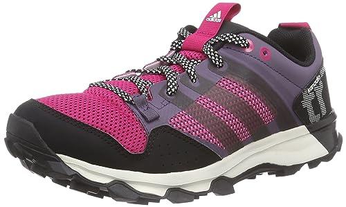 premium selection cf001 8b82f adidas Kanadia 7 TR W - Zapatillas para Mujer, Color Morado Negro Rosa   Amazon.es  Zapatos y complementos