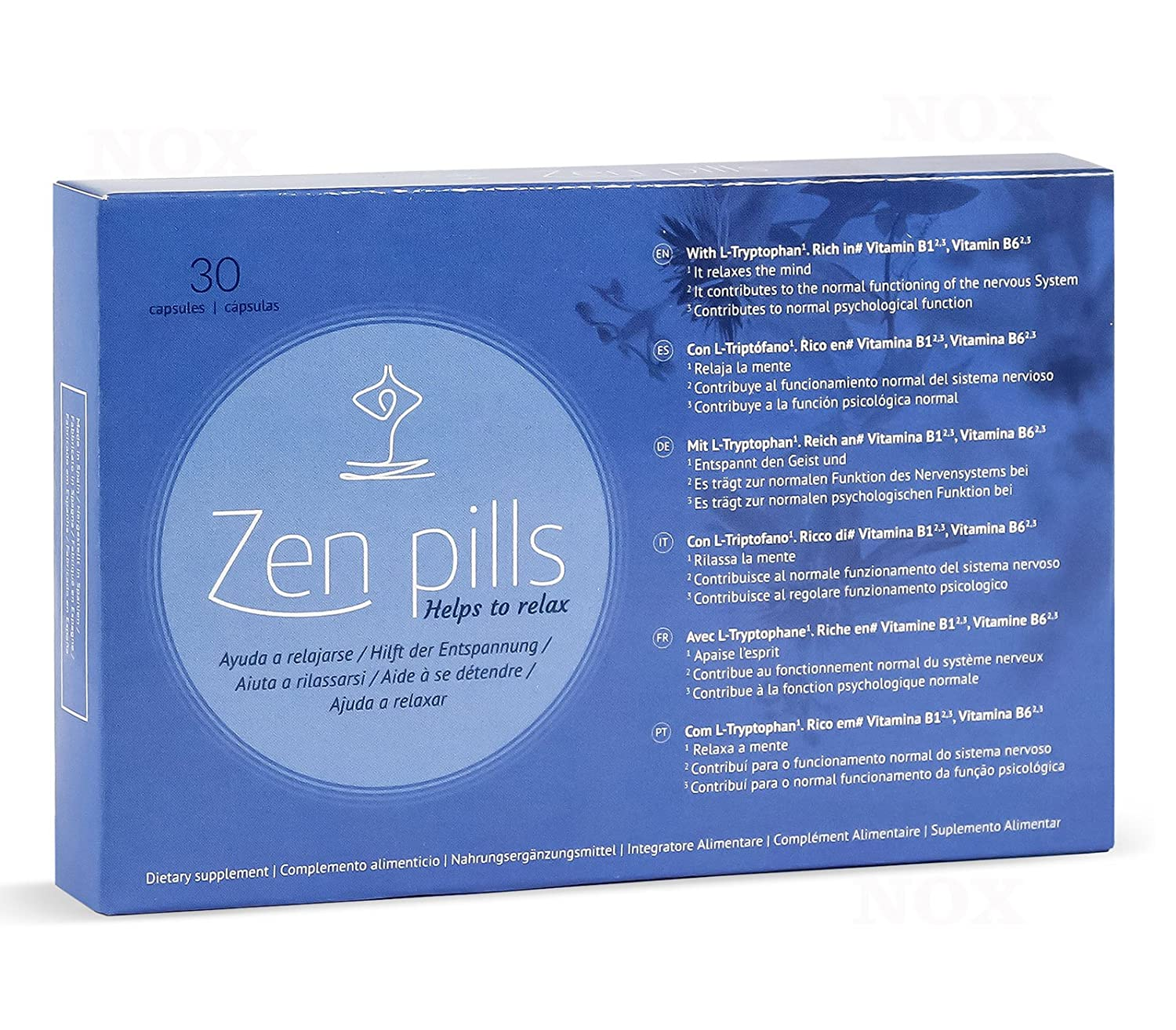 Amazon.com: Zen Pills: Relax capsules to control anxiety by ...