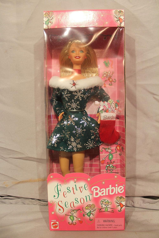 Festive Season Barbie Doll Special Edition Mattel 18909 1997