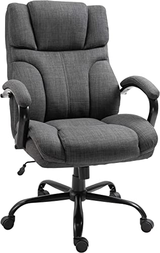 Vinsetto Big and Tall Ergonomic Executive Office Computer Chair 500lbs High Capacity