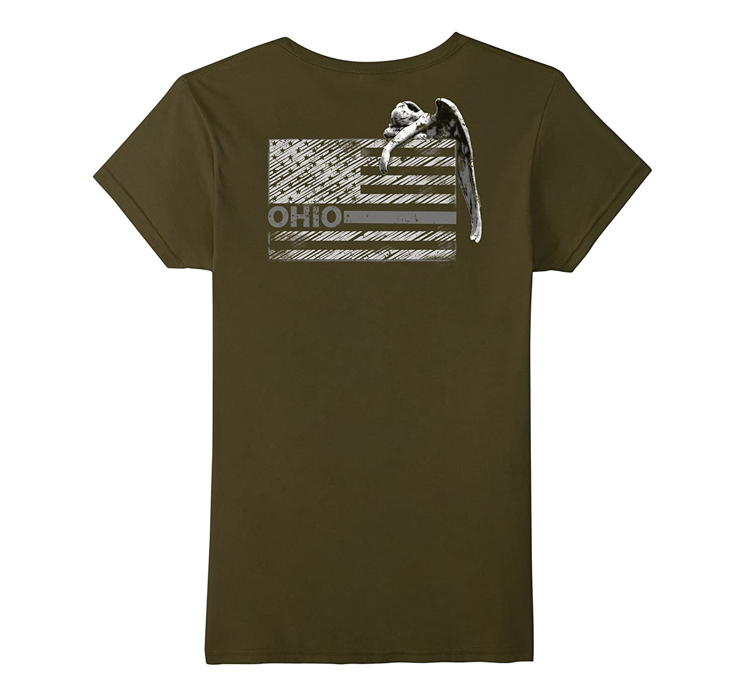 Correctional Officer Shirt Ohio Angel Weeping