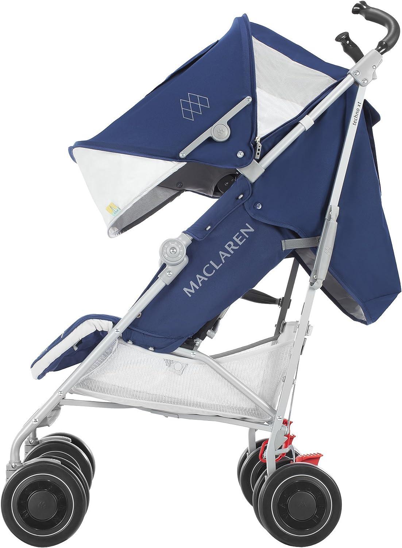 Maclaren Techno XT - Silla de paseo, color Medieval azul/plata ...