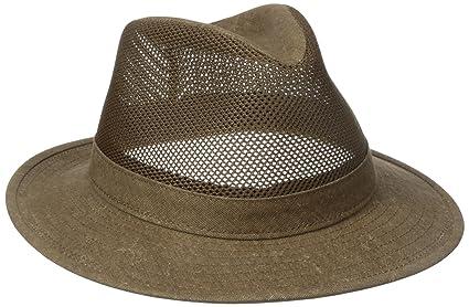 9f1a74f2cff Amazon.com  Henschel Men s Hiker Crushable Mesh Breezer UPF 50+ Hat ...