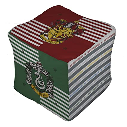 Amazing Harry Potter House Cube Shaped Cushion Pillow Bean Bag Cotton 40 X 40 X 40 Cm Andrewgaddart Wooden Chair Designs For Living Room Andrewgaddartcom