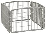 IRIS 24'' Exercise 4-Panel Pet Playpen without