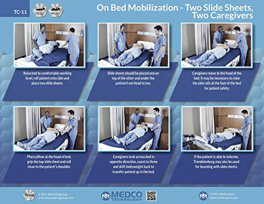 Amazon Com Two Smart Sheet 2 59 X 78 Slide Sheet For Patients
