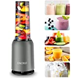 [Updated 2020 Version] Personal Countertop Blender for Milkshake, Fruit Vegetables Drinks, Smoothie, Small Mini Portable…