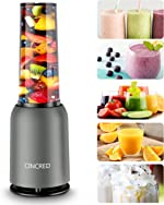 [Updated 2020 Version] Personal Countertop Blender for Milkshake, Fruit Vegetables Drinks,