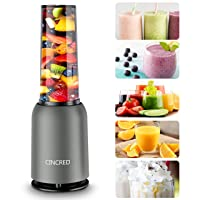 [Updated 2020 Version] Personal Countertop Blender for Milkshake, Fruit Vegetables...