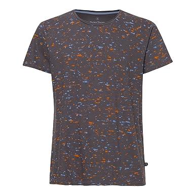 THOKKTHOKK Herren T-Shirt Marble Dunkelgrau Bio Fair  Amazon.de ... 75d8644fc5