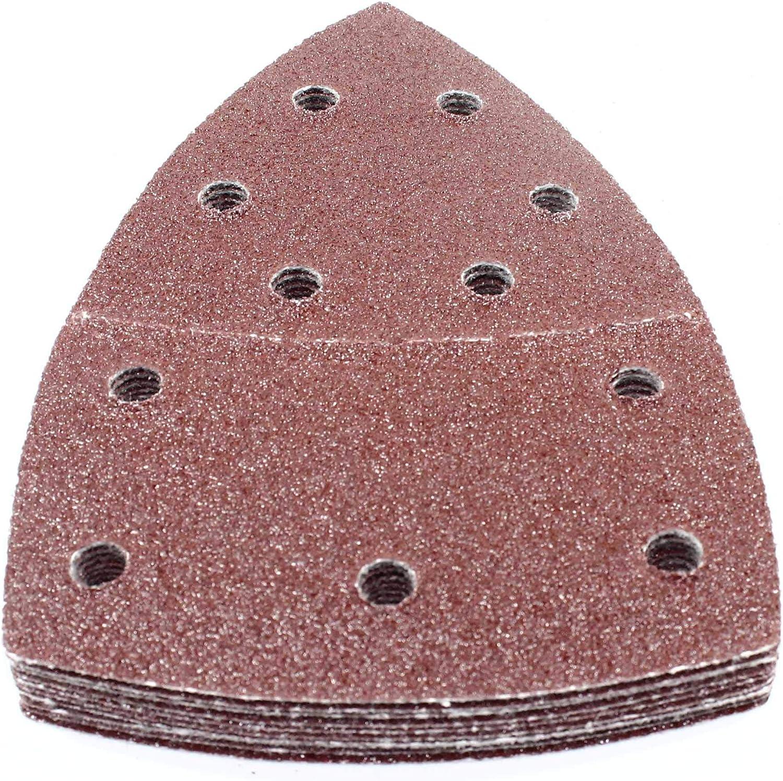 Ventaro SBS Lot de 50/feuilles abrasives 105/x 152/mm Grain 60/pour ponceuse multifonction Bosch Prio