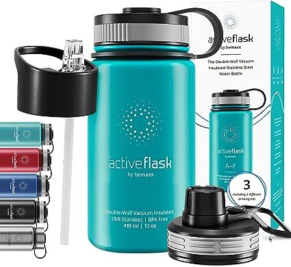 Wasserflasche Outdoor Wandern Reise Fitness Halterung Tasse Edelstahl SPORTS Rad
