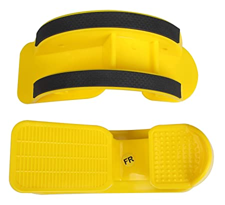 TODO Foot Rocker Calf Stretcher for Pain Relief and Muscle Stretch 2 PCS Yellow