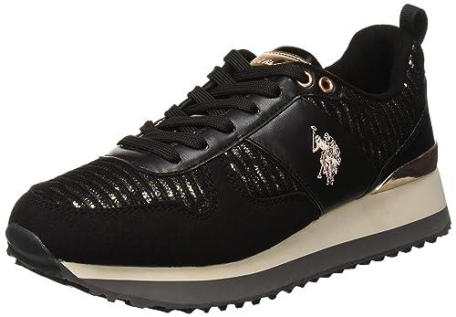 U.S.POLO ASSN. Tabitha1 Lurex, Zapatillas para Mujer: Amazon.es ...
