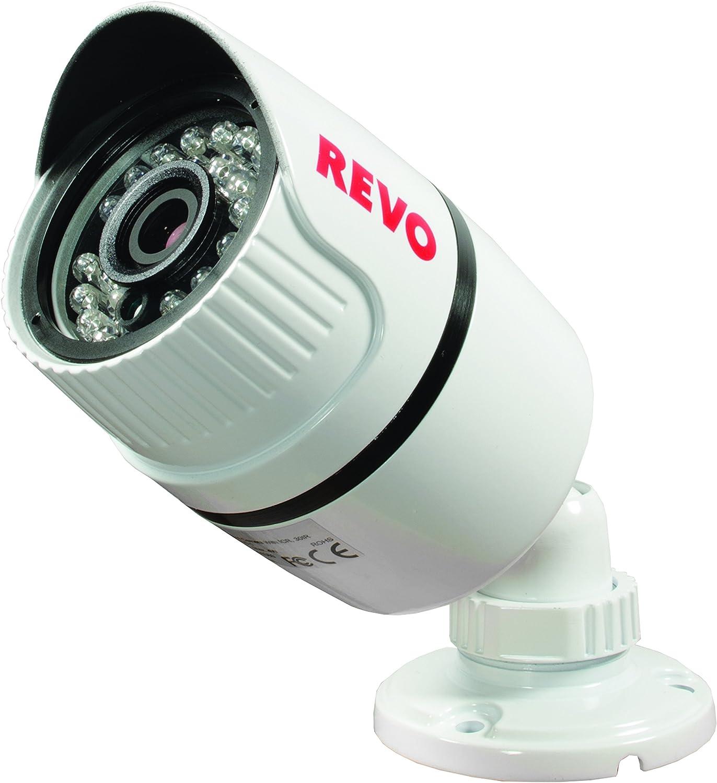 REVO America RTCBS30-1 T-HD 1080p Bullet Surveillance Camera White