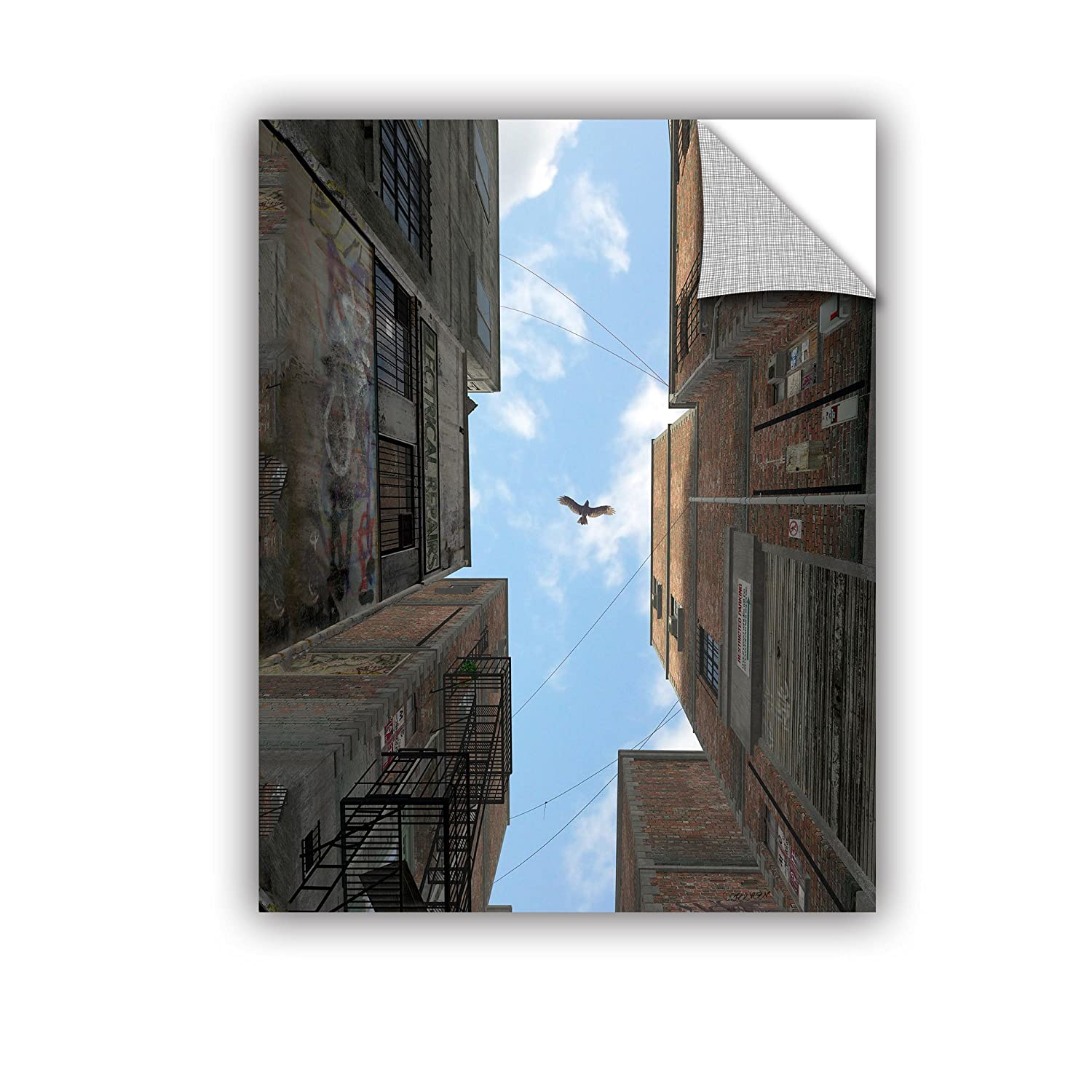 ArtWall 0dec001a1824p Cynthia Deckers Afternoon Art Appeelz Removable Wall Art Graphic 18-Inch x 24-Inch