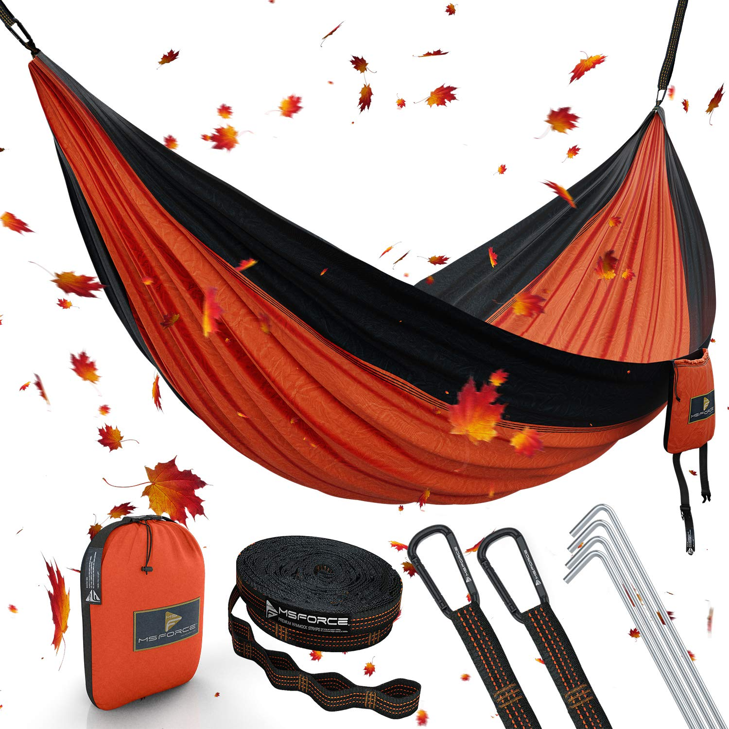 ONE DAY SALE Double Camping Hammock Waterproof Lightweight Parachute 240T