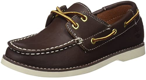 Timberland Seabury Classic 2Eye, Unisex Kids Moccasins Moccasins, Brown (Brown Smooth 214
