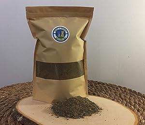 1 1/2 LBS Organic Rabbit Manure Ground Fertilizer