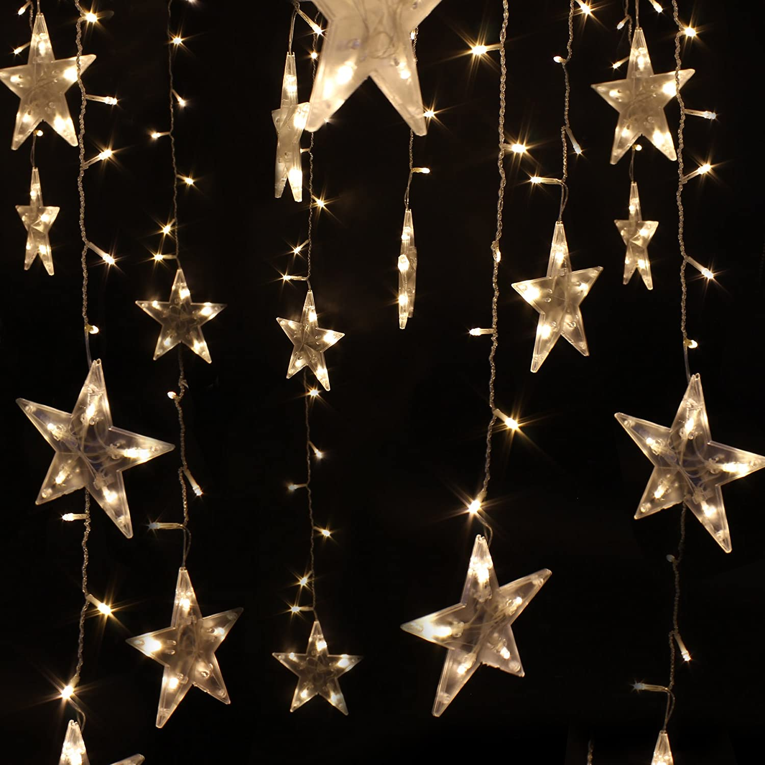 Five-pointed Star String Lights