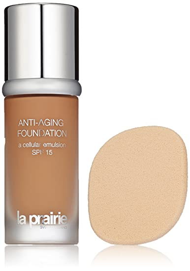 Amazon.com : La Prairie SPF 15 Anti-Aging Foundation for Women, 700, 1 Ounce : Makeup : Beauty